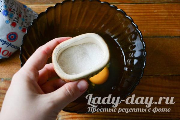 Яичница вареная в молоке - рецепт пошаговый с фото