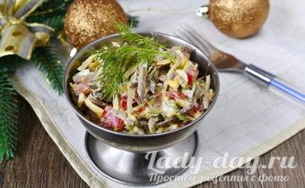 вкусный салат на праздник