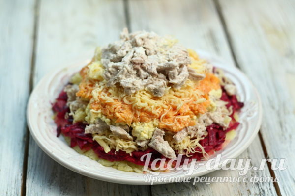 формируемым салат