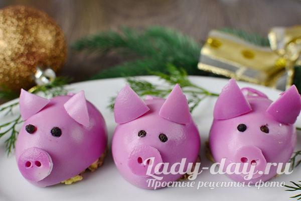 гламурные свинки