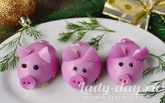 салат свинки
