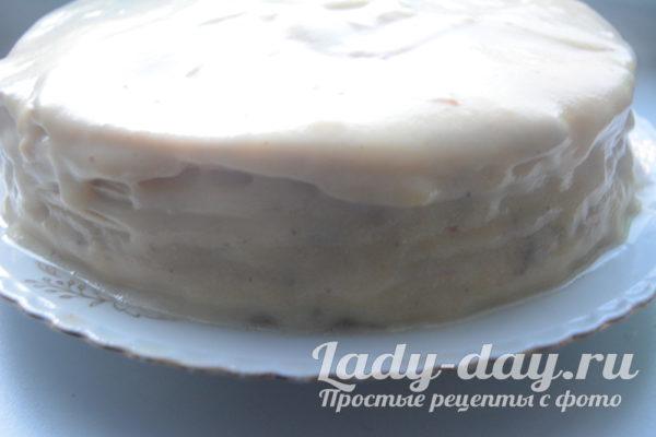 тортик с кремом