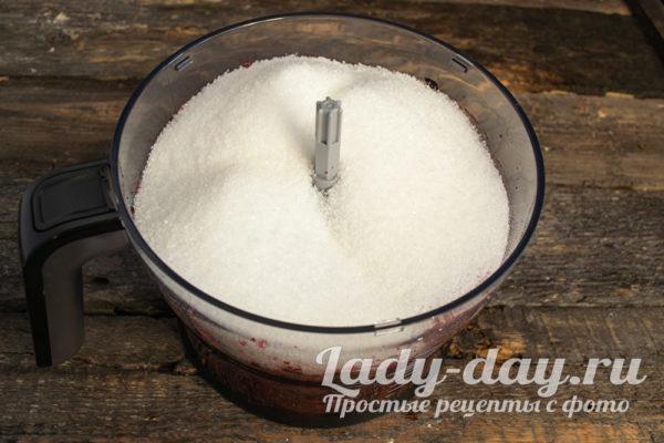 засыпать сахаром