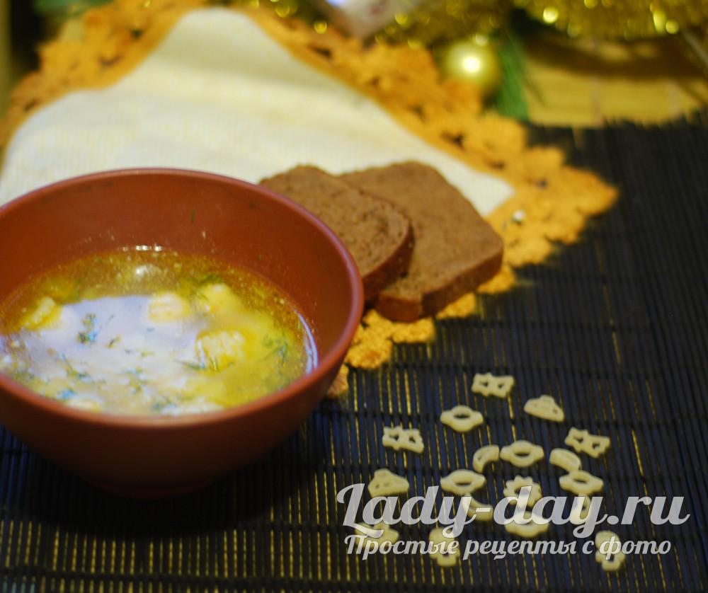 Суп с тефтелями рецепт с фото