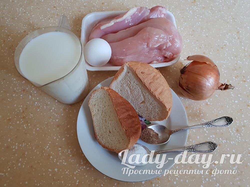 мясо и хлеб