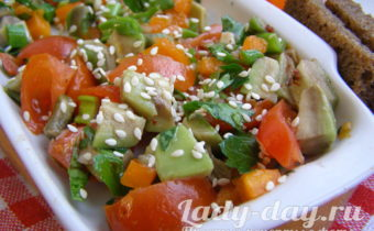 салат с авокадо рецепт простой и быстрый