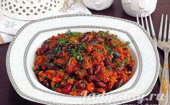 рецепт лобио из красной фасоли по грузински