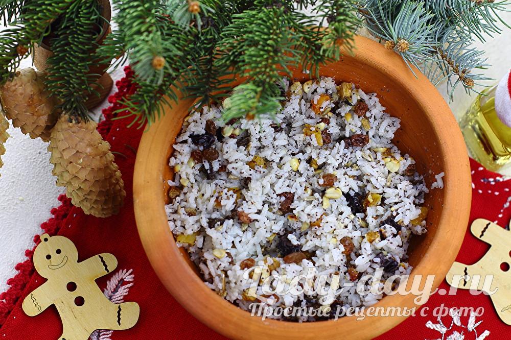 Кутья на Рождество, рецепт с фото