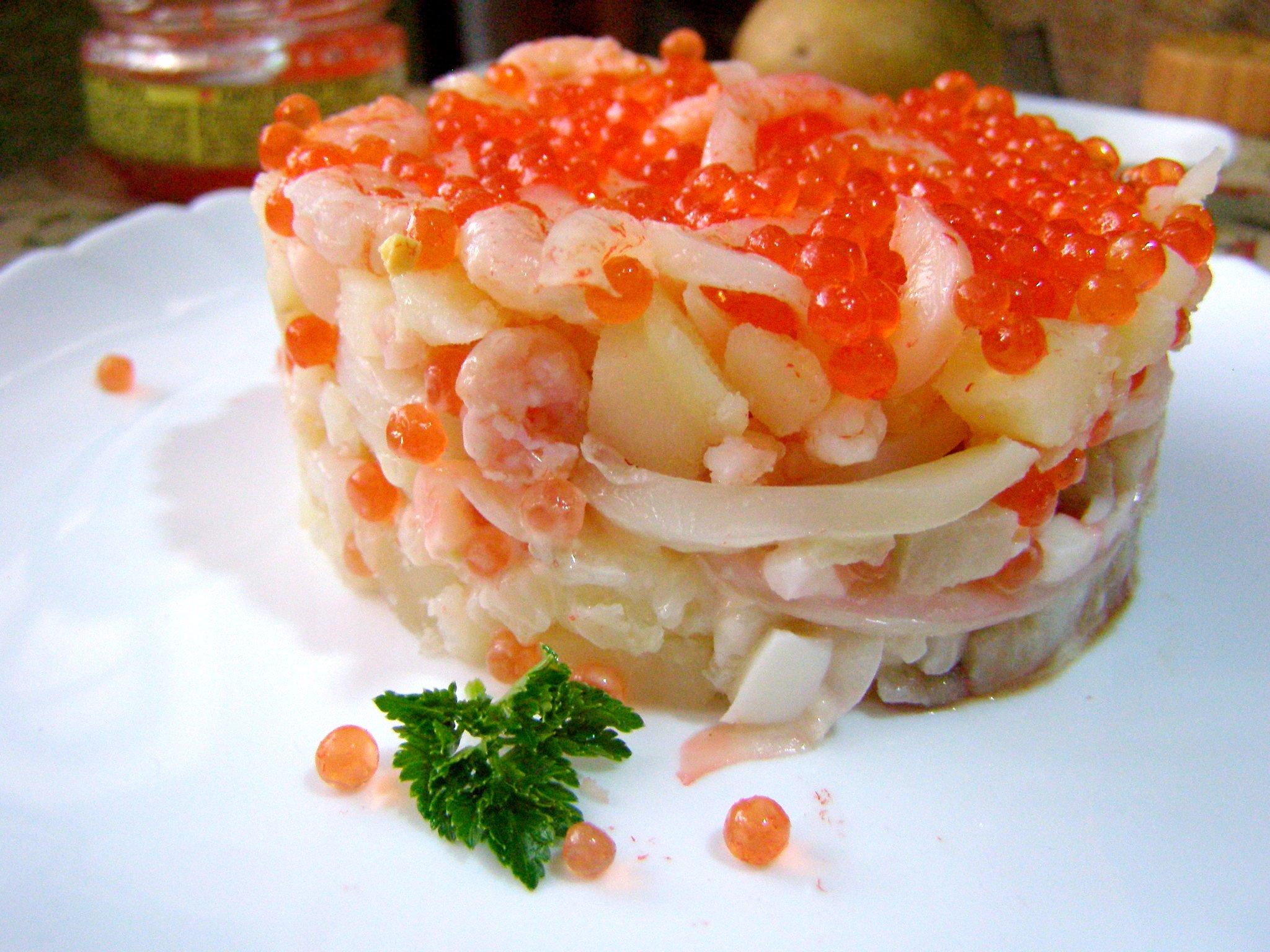Царский салат рецепт с фото