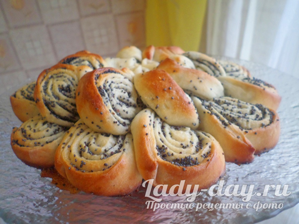 пирог с маком бабушкина салфетка пошаговый рецепт