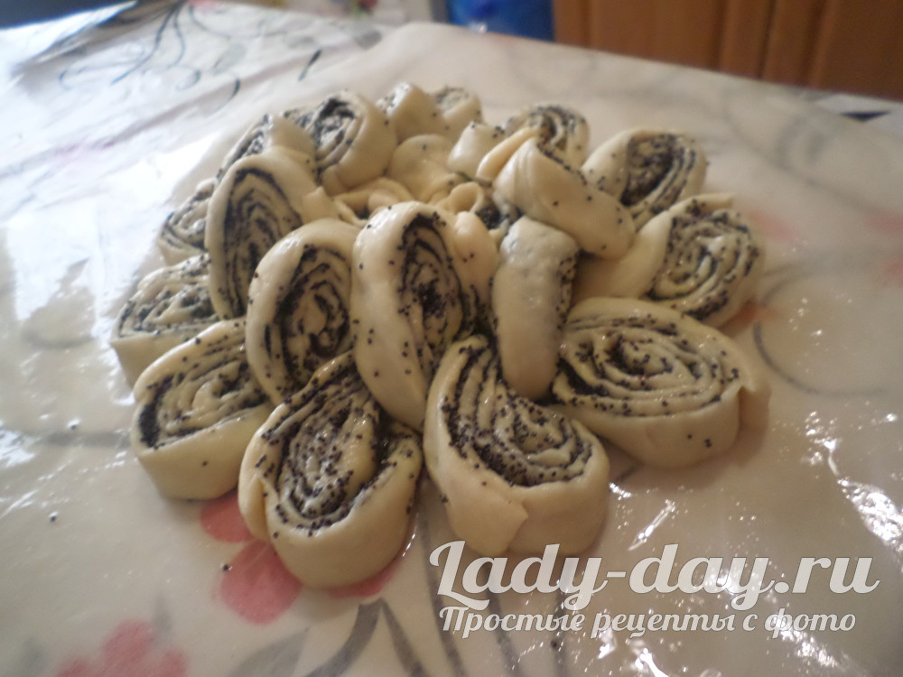 пирог с маком бабушкина салфетка рецепт