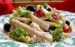 салат с брокколи рецепт с фото очень вкусный
