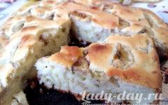 банановый пирог в духовке рецепт с фото пошагово