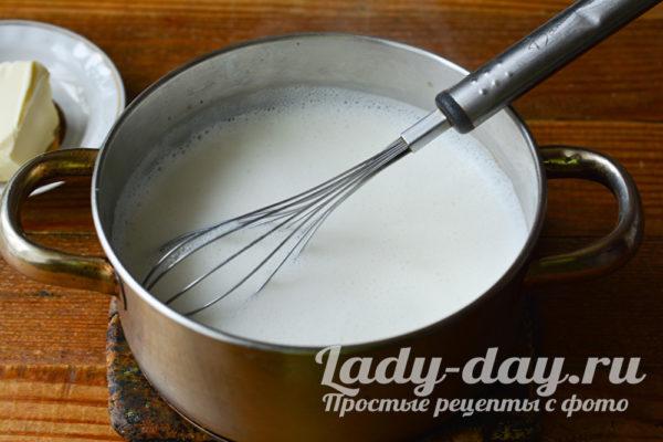 нагреть молоко