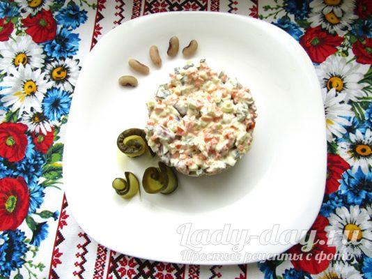 фасолевый салат
