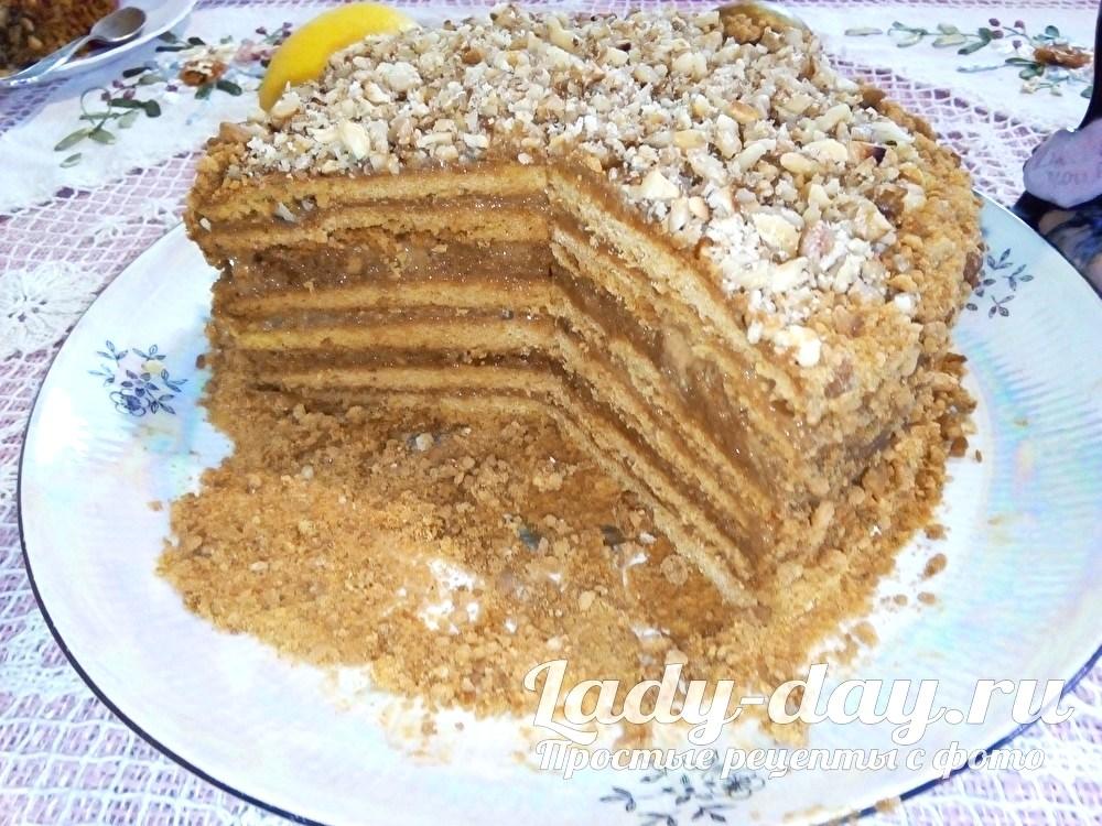 торт медовик простой рецепт