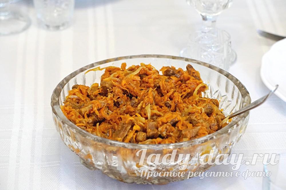 Салат из говядины: рецепт с фото очень вкусный пошаговый