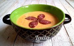 тыквенный суп-пюре классический рецепт с фото пошагово