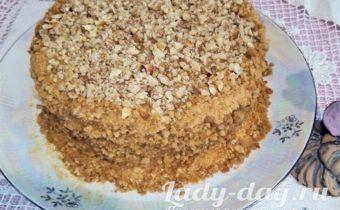 торт медовик простой рецепт с фото