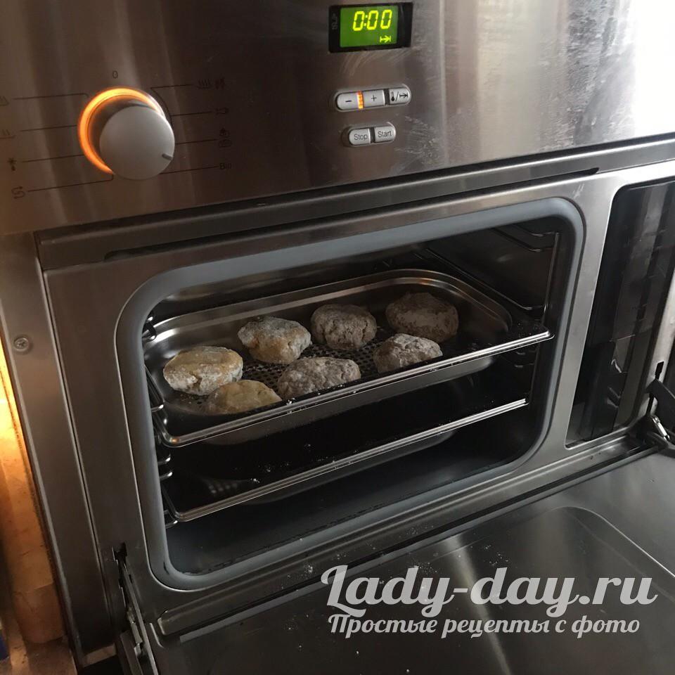 котлеты в духовке