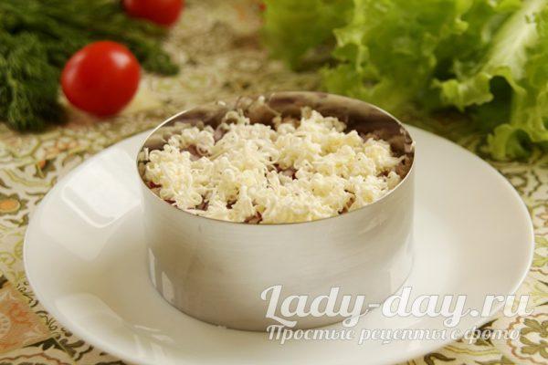 слой салата