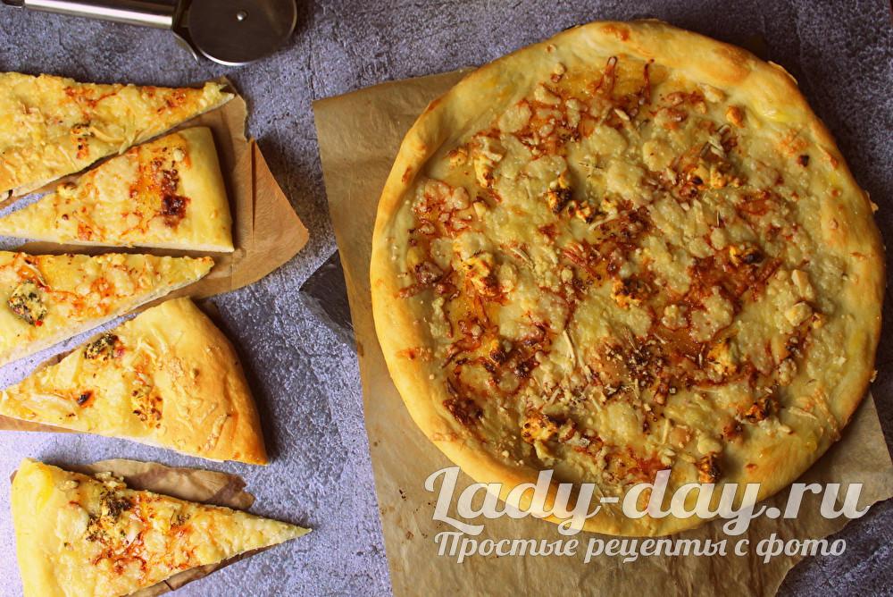 пицца 4 сыра рецепт в домашних условиях