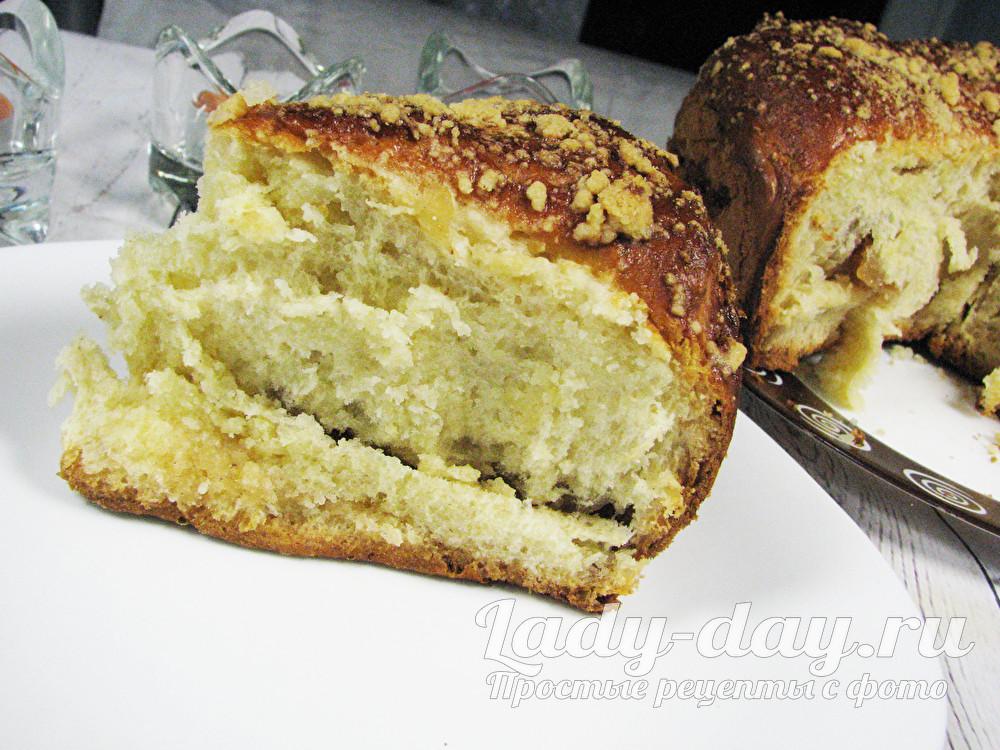 Яблочный пирог из дрожжевого теста, рецепт с фото пошагово в духовке
