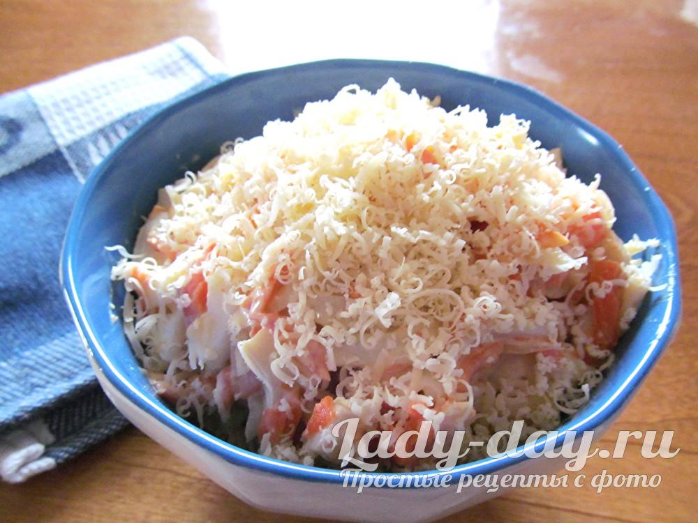 Салат с кальмарами и яйцом - самый вкусный