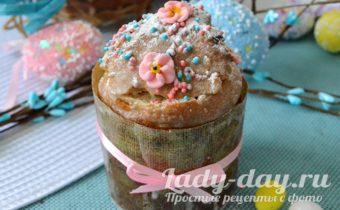 Пасхальный кулич без дрожжей - самый вкусный рецепт