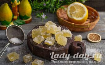 мармелад лимонный