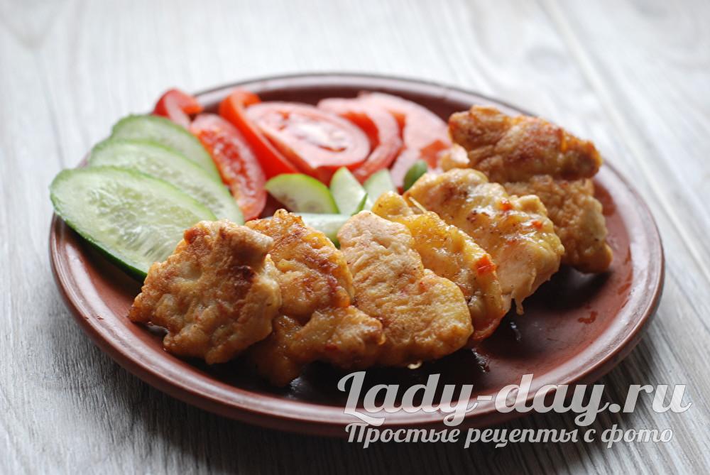 Куриные растрепки рецепт приготовления