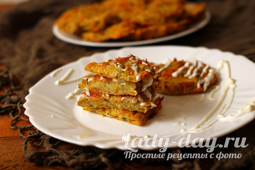 драники в духовке рецепт из картошки с сыром