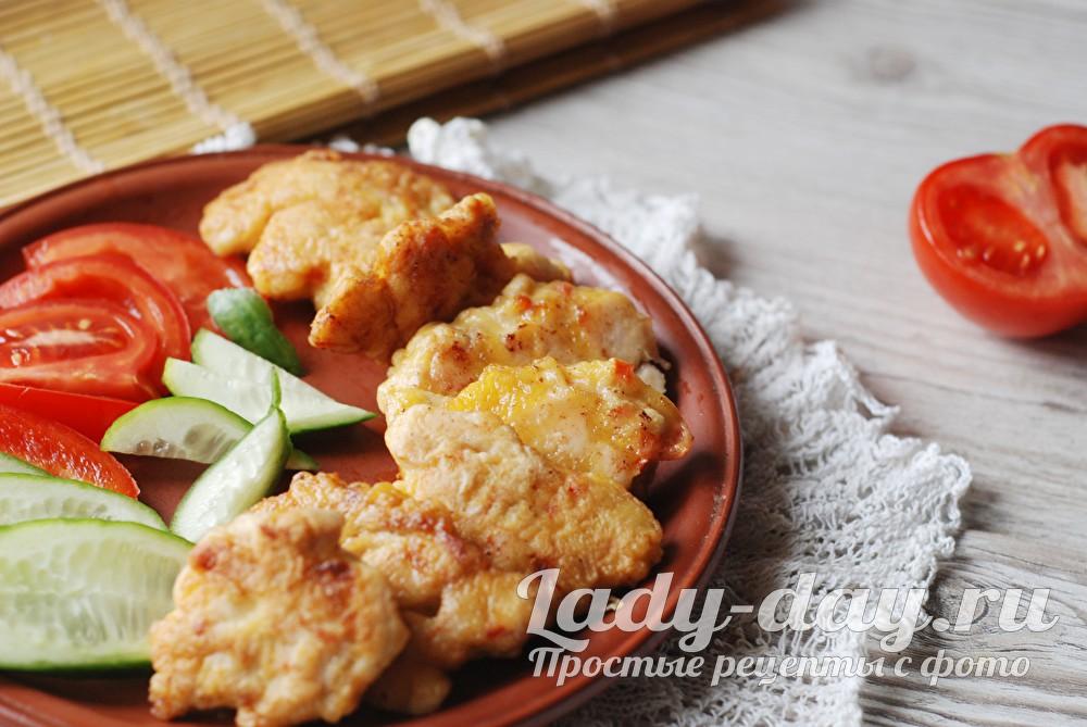 Куриные растрепки рецепт приготовления с фото