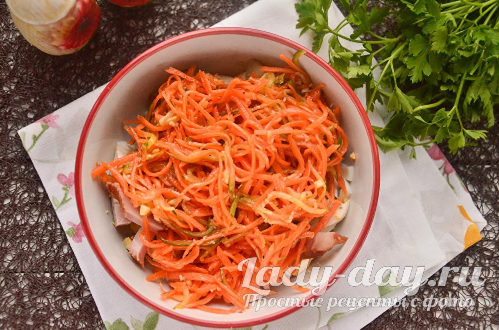 морковь по-коейски