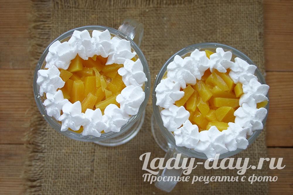 персики со сливками