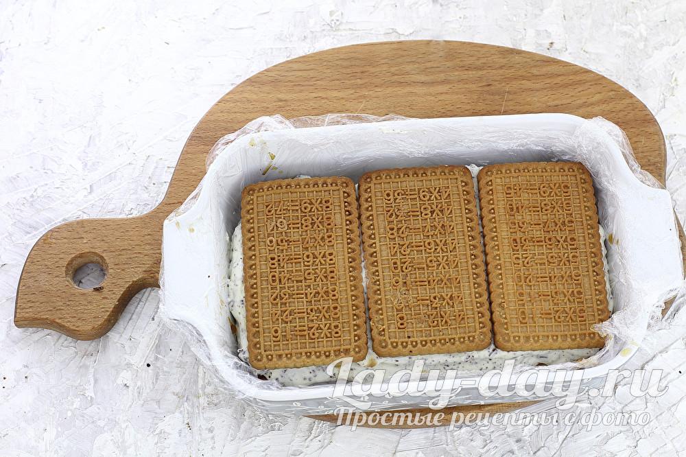 мороженое с печеньем