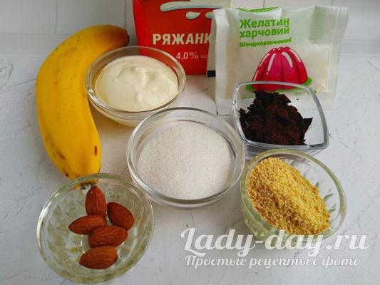 ингредиенты для десерта