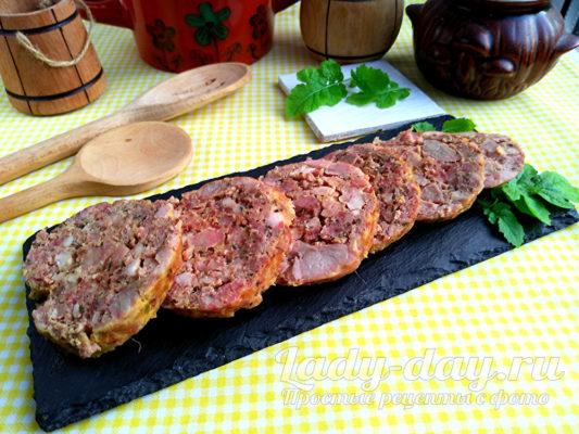 Домашняя докторская колбаса