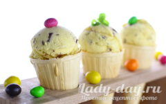 рецепт мороженого в домашних условиях из сливок и молока