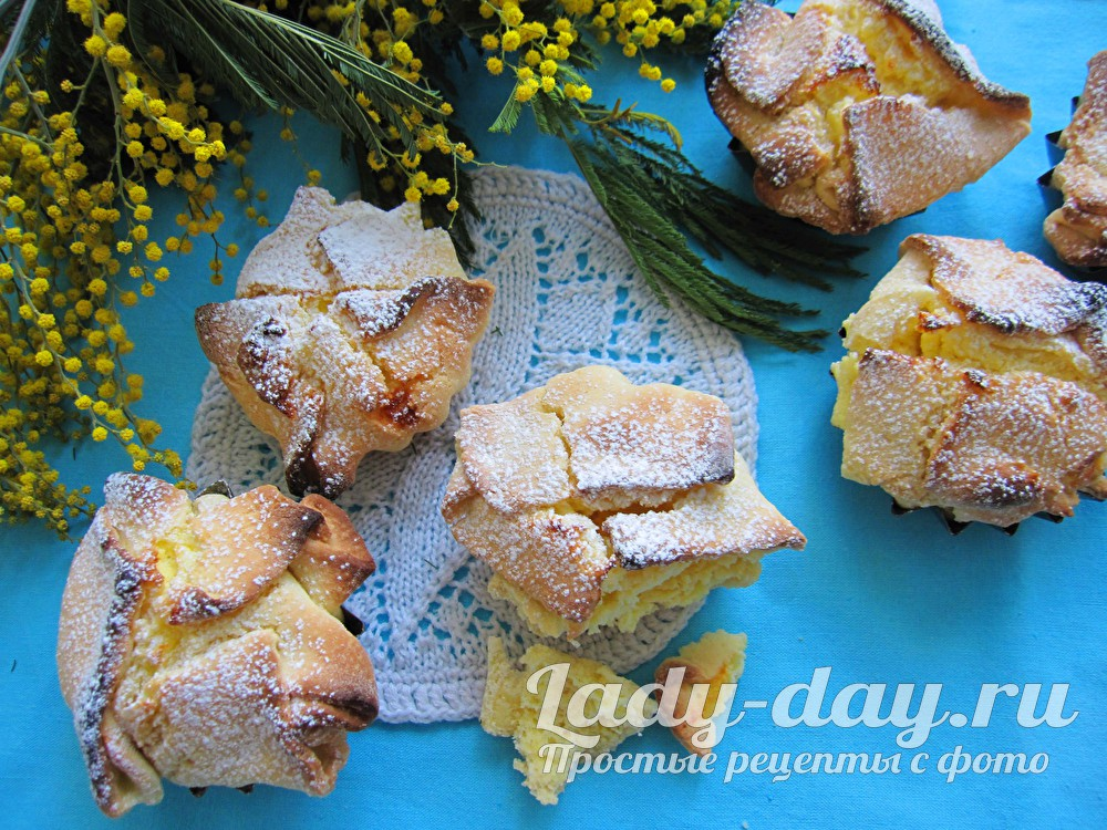Печенье с творогом рецепт