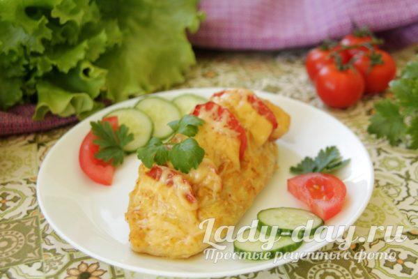 запеченное филе курицы с сыром
