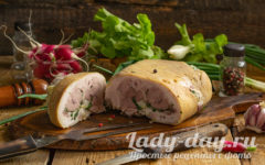 Прессованное чесночное мясо