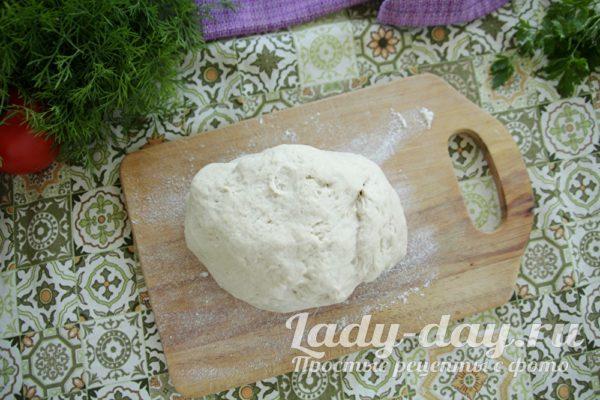 готовое тесто на беляши
