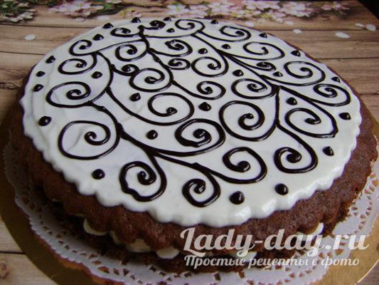 вкусный и быстрый торт