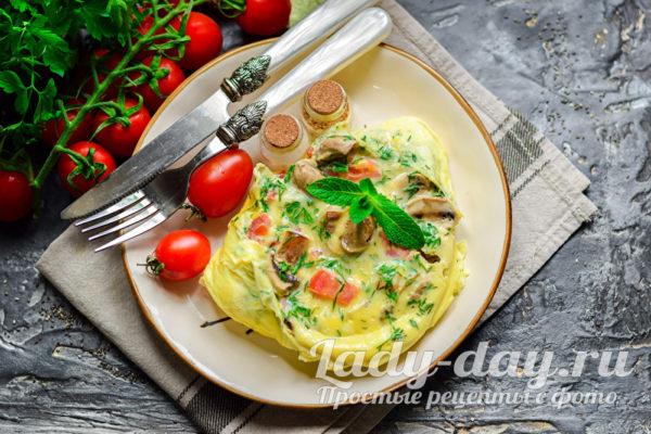 необычный и вкусный завтрак из яиц