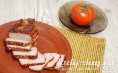 Свинина, запеченная с аджикой