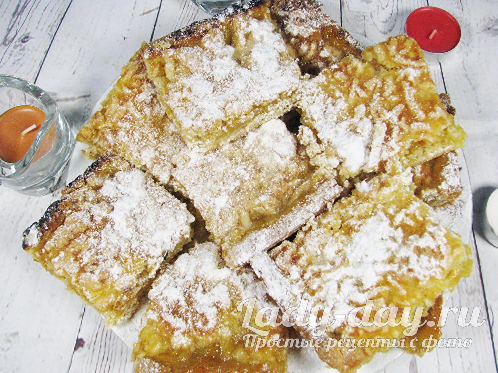 Пирог с лимоном и апельсином, рецепт с фото