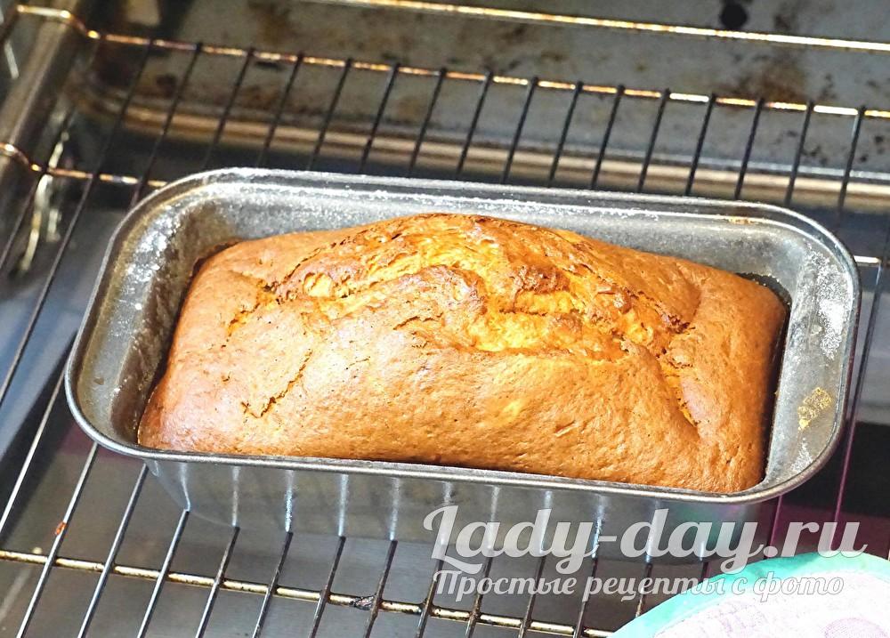 банановый кекс в духовке, рецепт с фото пошагово