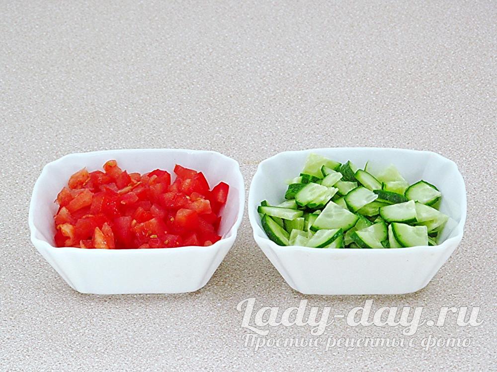 помидор и огурцы