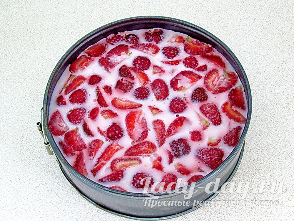 торт из йогурт